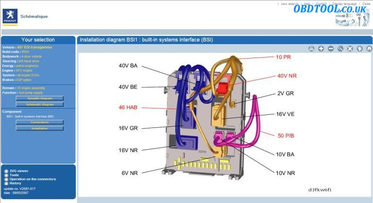 Read Peugeot Wiring Diagrams With Peugeot Service Box